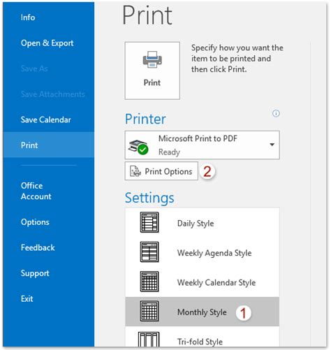 print yearly calendar from outlook how to print a whole full year of calendar in outlook