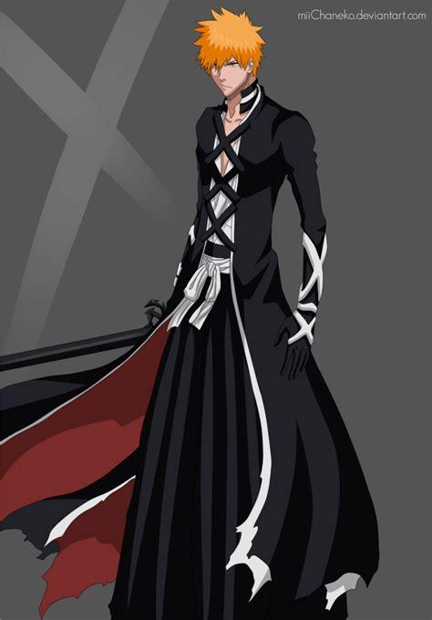 bleach ichigo kurosaki ichigo s new bankai look bleach 475 daily anime art