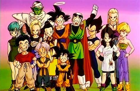 imagenes de goku y sus amigos dragon ball super gok 250 y sus amigos regresan a la