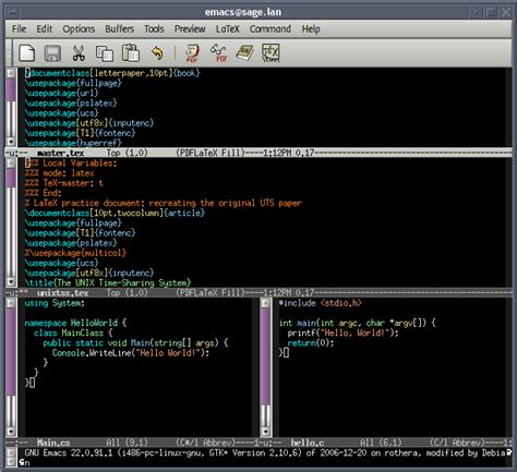 emacs workflow simple question about workflow learnpython