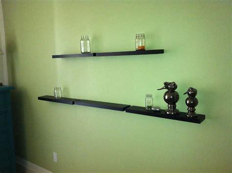 Black Floating Wall Shelves Best Decor Things Black Floating Wall Shelves