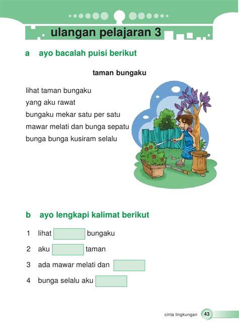 membuat poster bahasa indonesia kelas ii sd bahasa indonesia tri novia