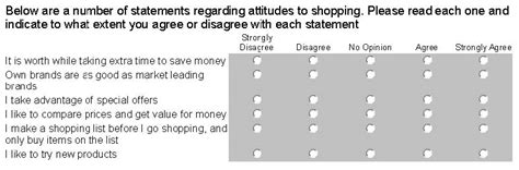 Attitude Survey Template by Attitude Surveys The Likert Scale And Semantic Differentials