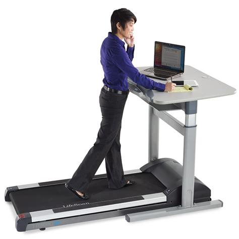 Walking Computer Desk Tr5000 Dt7 Treadmill Desk Lifespan Workplace