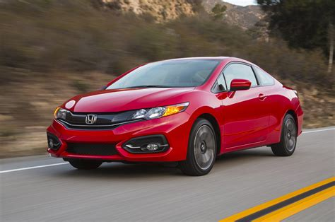 2015 honda civic coupe front three quarter photo 8