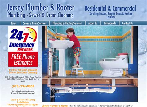 Jersey Plumbing rob web and graphic designer
