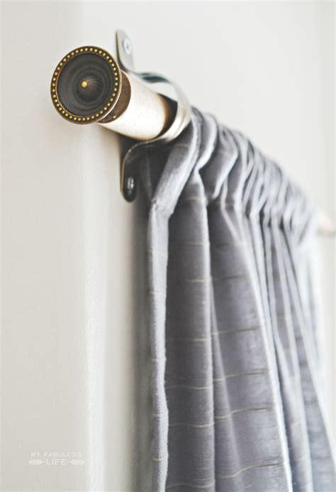 makeshift curtain rod 10 homemade curtain rods you can make