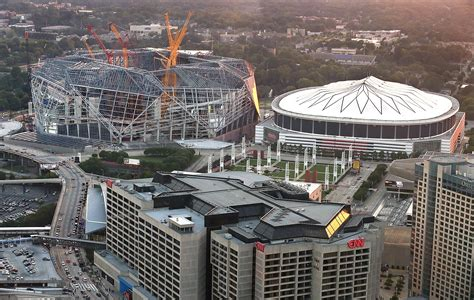 mercedes stadium atlanta hotels image mag