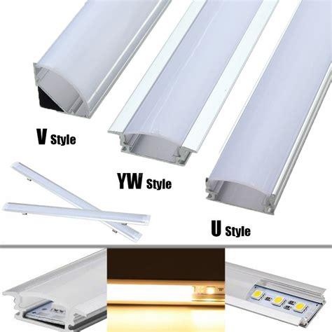 Led Light Channel by 30cm Aluminum Channel Holder For Led Rigid Light Bar Cabinet L Alex Nld