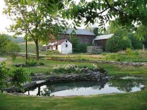landscaping farm pond ideas pinterest