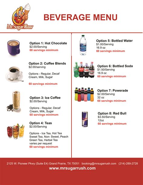 beverage menu pictures to pin on pinterest pinsdaddy