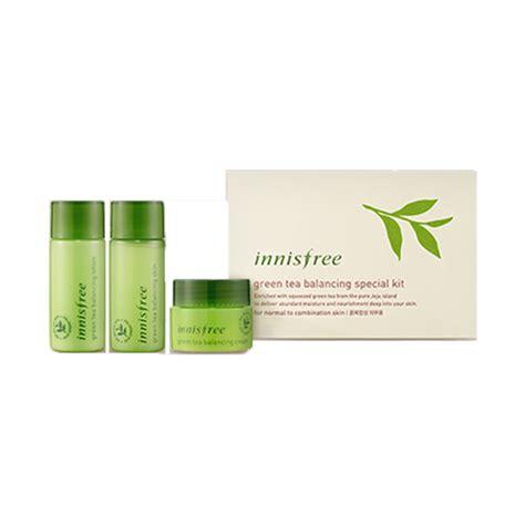 Harga Innisfree Green Tea Balancing Special Kit bá kit dæ á ng da tr 224 xanh innisfree green tea balancing