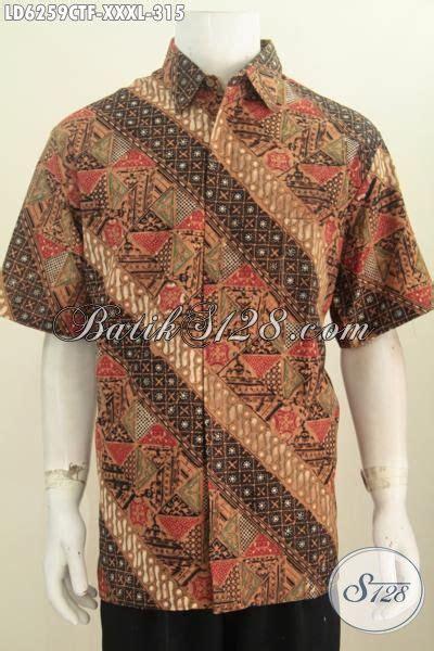 Kemeja Batik Katun Cap Elegan Batik Nurisma 4 busana batik klasik nan elegan untuk pria gemuk sekali