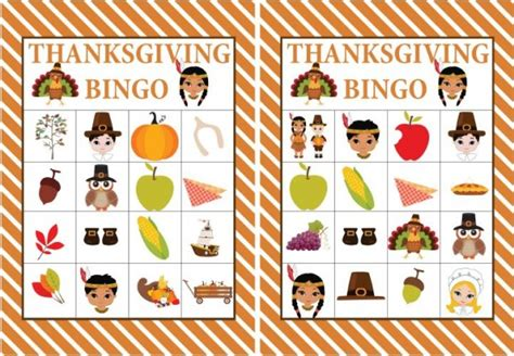printable thanksgiving bingo cards free free printable thanksgiving bingo game kids thanksgiving