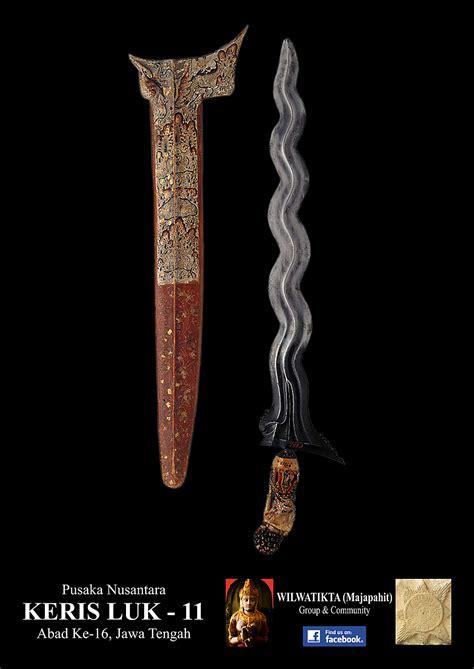 Keris Klabang Sakyutho Luk 9 keris luk 11 abad ke 16 era kerajaan mataram islam wilwatikta majapahit