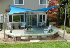 patio sail shades shade sails rooftop patio for the home