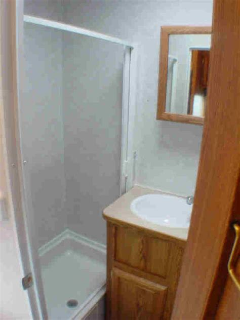 enclosed trailer with bathroom enclosed shower