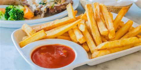 kuliner  membuat kentang goreng rendah lemak vemalecom