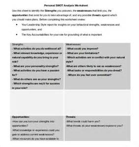 swot template pdf swot analysis worksheet lesupercoin printables worksheets