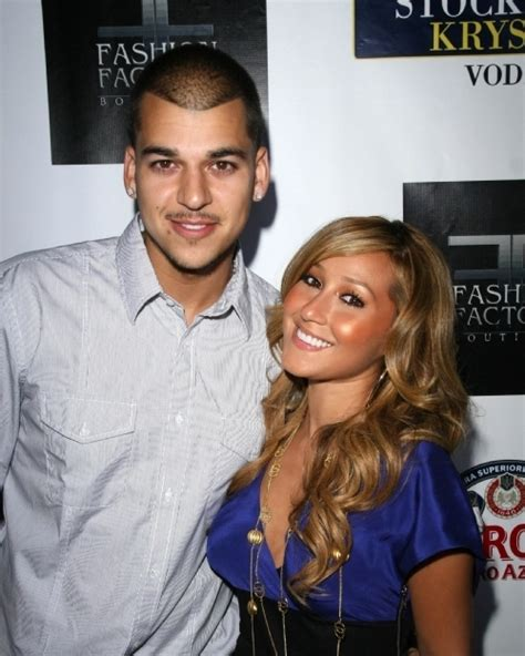 rob kardashian and adrienne bailon tattoos robert