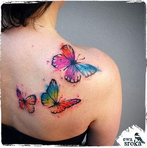 watercolor butterfly tattoo designs best 25 watercolor butterfly ideas on