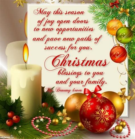 christmas blessings quotes  cards quotesgram
