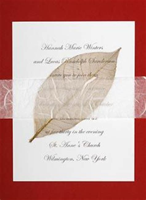 Wedding Invitations Rice Paper by Wedding Invitation Ideas On Green Wedding