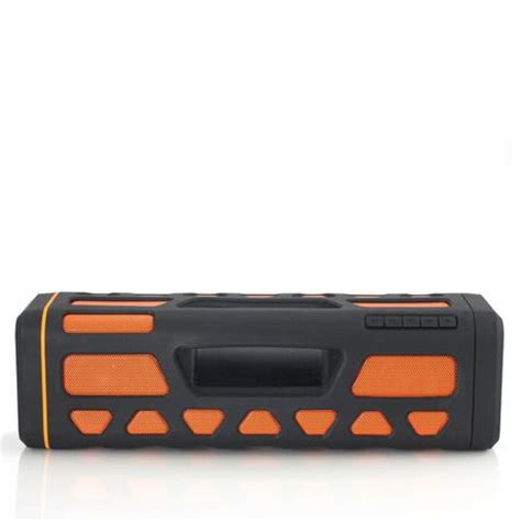blackweb lighted bluetooth speaker review blackweb soundboom rugged splashproof wireless speaker