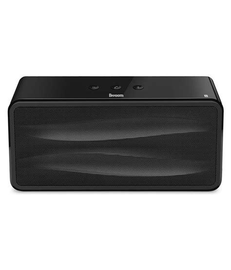 Speaker Bluetooth Divoom divoom onbeat 500 bluetooth speaker black buy divoom