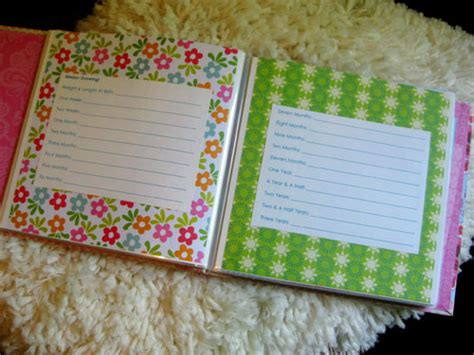 diy baby book five favorite baby items a free baby book printable
