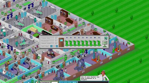 theme hospital list of levels theme hospital corsixth perfect level alien dna youtube