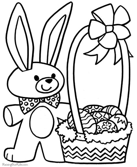 free easter coloring pages for kindergarten preschool coloring sheet for easter 012