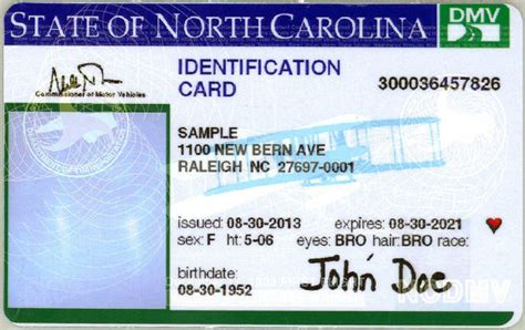 state id template voters one year to get an nc photo id wunc