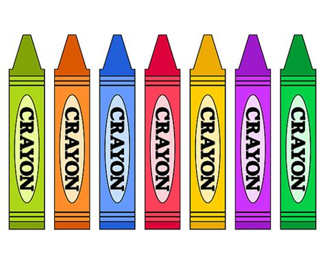 crayons clipart color crayon clipart clipground