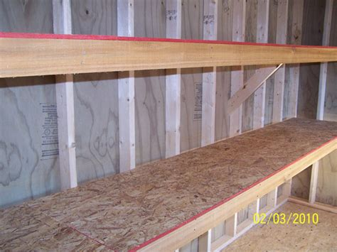 Wood Shed Shelves by Free Woodworking And Metalworking Plans And Patterns How To Build Storage Shed Shelves Steel