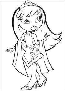 bratz coloring pages bratz coloring pages free printable coloring pages