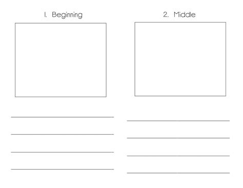 Book Writing Template Kindergarten Monomyth Writing Book Writing Template Story Sequencing Book Writing Template