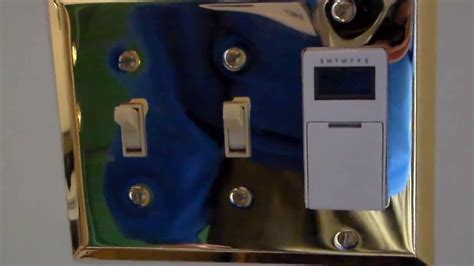 how to set automatic timer for lights how to installing an automatic light timer youtube
