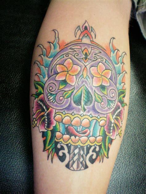 tiki head tattoo tiki images designs