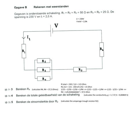 calculating things inside a circuit with resistors parrallel and series electrical