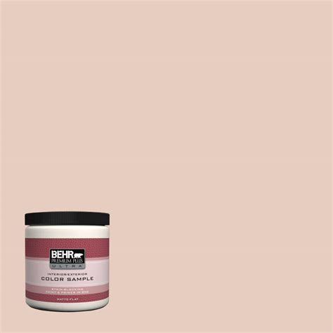 behr premium plus ultra 8 oz ppu24 04 burnished pewter interior exterior flat matte paint