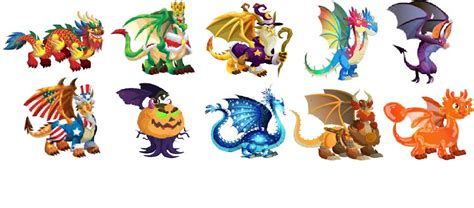 los dragones dragon city los dragones de dragon city
