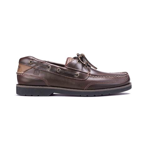 sperry stingray boat shoes lyst sperry top sider men s stingray boat shoes in brown
