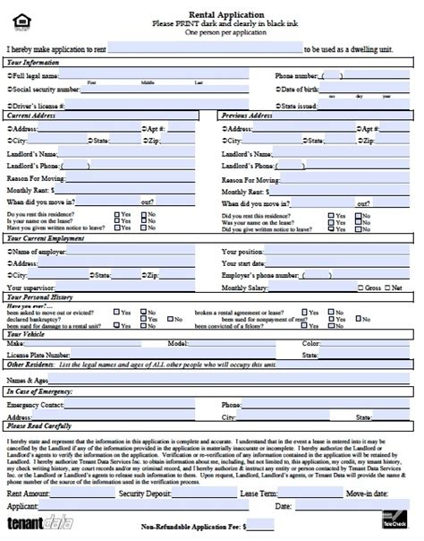 Rental Application Template Peerpex Free Rental Application Form Template