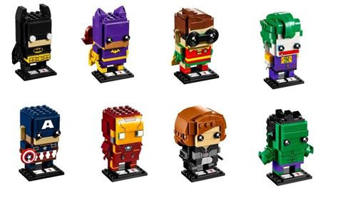 Lego 41588 Brick Headz The Joker lego brickheadz official press release plus product