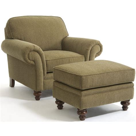 broyhill chair and ottoman broyhill furniture larissa traditional stationary chair