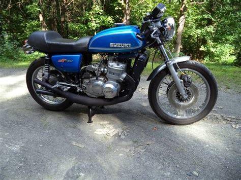 Suzuki 750 Gt For Sale 1974 Suzuki Gt 750 Cafe Racer Ex For Sale On 2040 Motos