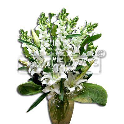 mazzo di fiori bianchi inviare fiori per matrimonio regalare spedizioni fiori