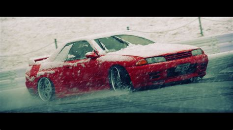 nissan skyline drift wallpaper nissan skyline r32 blizzard drifting cars snow wallpaper