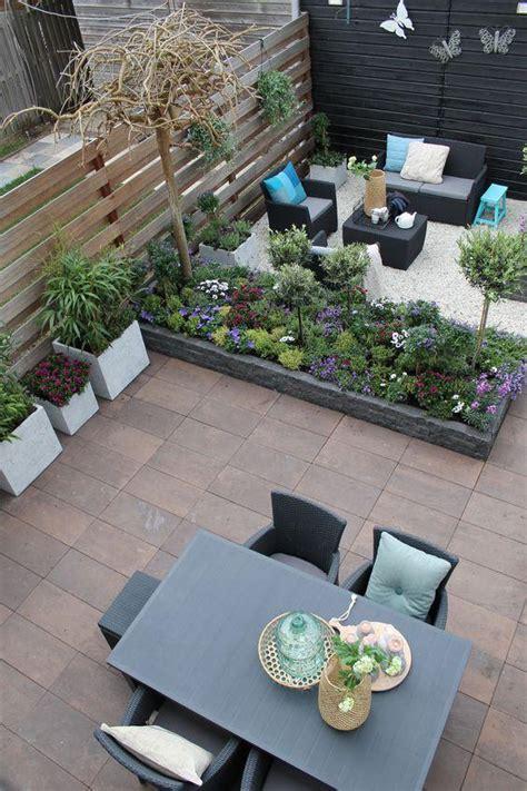 minimalist designs patios  gardens home decor